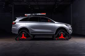 suv kia 2016 kia drives a fleet of autonomous concepts to sema 2016