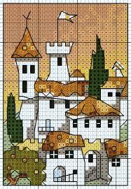 white village u0027 from michael powell u0027s u0027mini cross stitch u0027 book