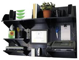 Home Office Desk With Storage by Wall Control 10 Ofc 300 Bb Office Wall Mount Desk Storage And