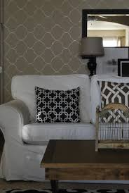 Living Room Shabby Chic Wallpaper Simple And Cozy Wallpaper Accent Wall Living Room Image 5