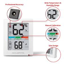 pro indoor temperature and humidity monitor acurite
