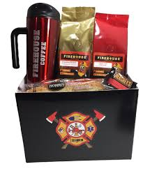 coffee gift basket ideas gifts gift baskets firehouse coffee company