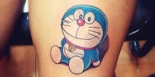 gambar tato kartun di lengan 5 tato doraemon keren dan simple aengaeng com