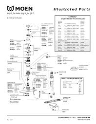 Older Delta Kitchen Faucets by Moen Shower Faucet Parts Diagram Best Faucets Decoration
