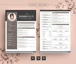 Modern Word Resume Templates Free Modern Resume Template Creative Free Printable Resume