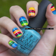 serape nails www chelseasgetnailed com chelseaqueen com