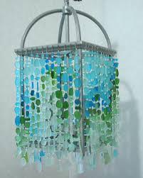 Teal Glass Chandelier Sea Glass Chandelier Good Furniture Net