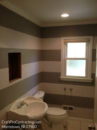 stripes painted in morristown nj bathroom decorative interior