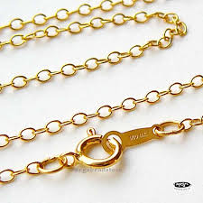 gold filled chain necklace images 18 in cable chain 14k gold filled finished chain jpg