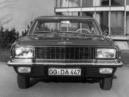 opel admiral характеристики автомобиля седан opel admiral 1964 1968г выпуска