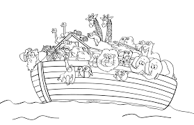 noahs ark coloring page noah coloring pages preschool archives