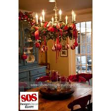 How To Decorate A Chandelier 40 Ideas To Try For Christmas Table Decor