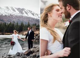 Local Wedding Photographers Katrina Michael Eagle River Alaska Catie Bartlett