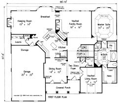 House Plans With Keeping Rooms Greyhawk House Floor Plan Frank Betz Associates