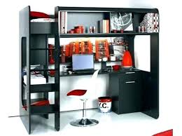mezzanine bureau lit en hauteur 1 place lit mezzanine bois 1 place lit mezzanine