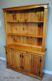 rustic maple a pine buffet and hutch and vintage ironstone