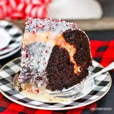 peppermint bark cake love from the oven