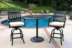 Outdoor Bistro Table Bar Height Outdoor Bistro Table And Chairs Bikepool Co