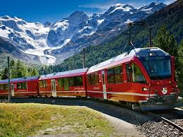 Travel By Train images Bernina express train rail europe jpg