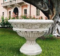 Italian Vase Vase Grand Italian Planter Outdoor Pottery Vases Marble Carved