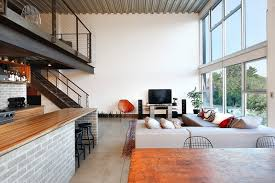 industrial apartments an industrial interior for this loft apartment in seattle