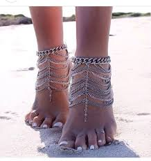 ankle bracelet jewelry images Jewels chain boho summer outfits ankle bracelet bracelets jpg