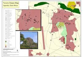 East Africa Map Tororo Green Map Uganda East Africa Digital 2005 Green Map