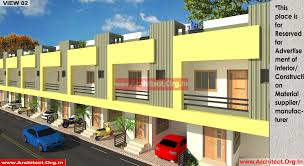 row house plans mr ganesh kalyankar u2013 nanded maharastra u2013 row house u2013 plans by