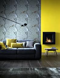 Yellow Fireplace Small Fireplace Wall Before Mustard Yellow Wall Interior Design