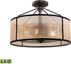 oil rubbed bronze light fixtures diffused lighting fixtures elk 57024 3 led diffusion oil rubbed