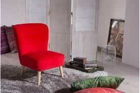 fauteuils rouges lot de 2 fauteuils en pin rouges looking fauteuil design pas cher