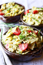Creamy Pasta Salad Recipes by Pasta Salad With Creamy Avocado Sauce