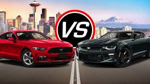 ford mustang chevy camaro 2016 ford mustang v6 vs chevy camaro ss spec comparison