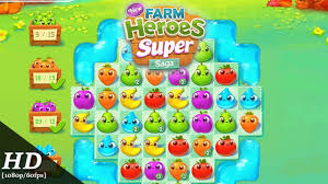 farm saga apk farm heroes saga android gameplay 1080p 60fps apk
