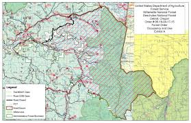 Three Sisters Springs Map Trail Closure Archives Pacific Crest Trail Association