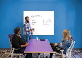 extra large white dry erase board wall decal shop fathead for