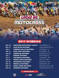 how to get into motocross racing 2017 lucas oil pro motocross championship schedule dirt rider