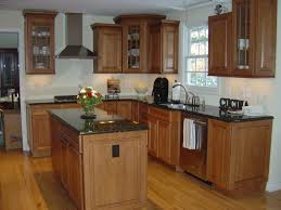 Kitchens With Black Countertops Cabin Remodeling Tips To Choice Maple Kitchen Cabinets