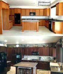 how to gel stain kitchen cabinets kitchen cabinet gel stain kitchen oak cabinets darker gel stain oak