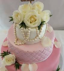 pink quilted wedding cake quality cake company
