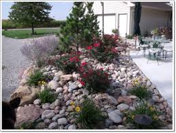 Small Rock Garden Images Architecture Modern Wtone Garden With Colorful Flowers And Small