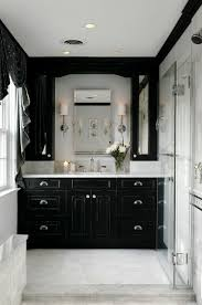 Black And White Bathrooms Ideas Black And White Bathroom Decor Pictures House Plans Ideas