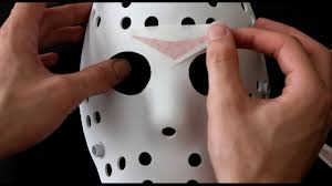 Jason Halloween Mask by Converting A Jason Halloween Store Mask Youtube