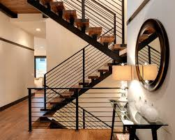 Handrail Designs For Stairs Metal Railing Houzz