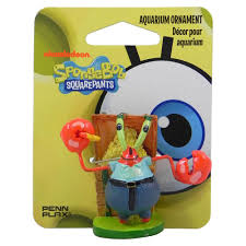 mr krabs spongebob aquarium ornament aquar ornaments at arcata