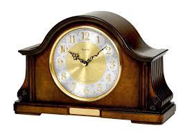 Crystal Mantel Clocks Chadbourne Mantel Clock By Bulova 100 249 Clocks