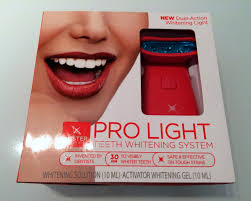 how to use teeth whitening gel with light pretty luscious things luster pro light teeth whitening system review