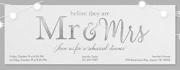 rehearsal dinner free invitations