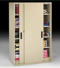 Door Storage Cabinet Jumbo Storage Cabinets With Sliding Doors Lozier Store Fixtures