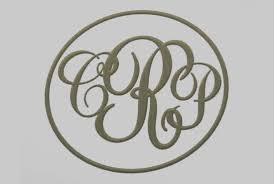 three letter monogram create three letter monogram for your initials by coroplus